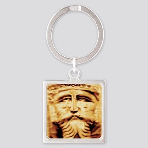 gold-king Square Keychain