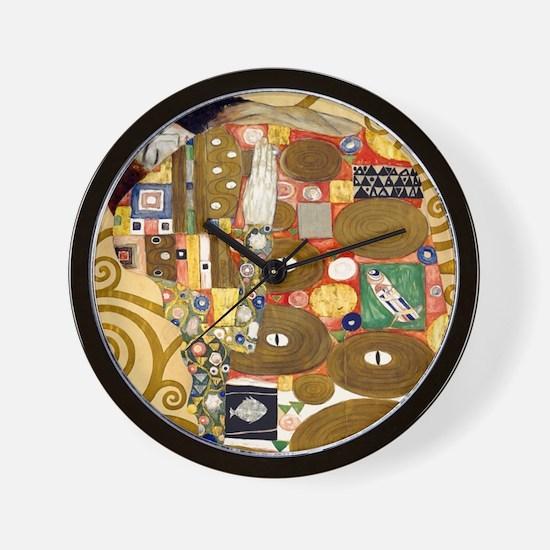 Klimt Cal L Wall Clock