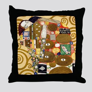 Klimt Cal L Throw Pillow