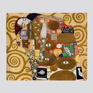 Klimt Cal L Throw Blanket