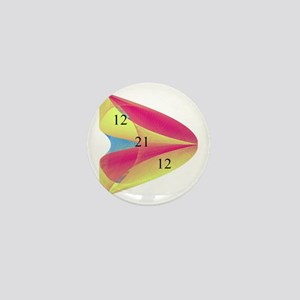Redish Paraboloid 12 21 12 Mini Button