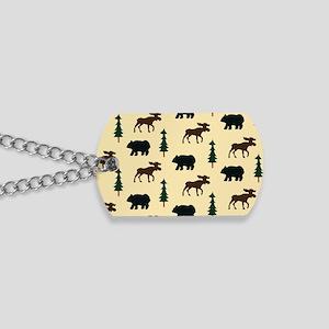 Bear Moose Laptop Skin Dog Tags