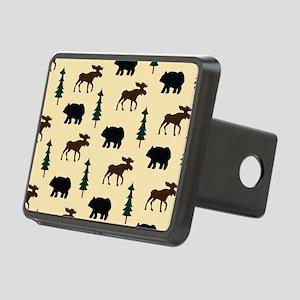 Bear Moose Laptop Skin Rectangular Hitch Cover