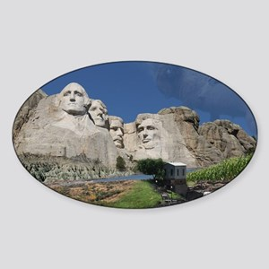 AcrossSouthDakota2_poster Sticker (Oval)