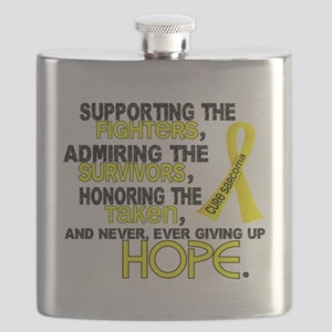 D Sarcoma Supporting Admiring Honoring 3.2 Flask