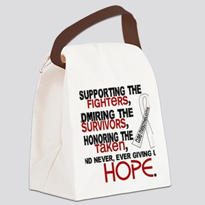 D Mesothelioma Supporting Admirin Canvas Lunch Bag