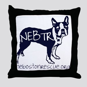 NEBTR Throw Pillow