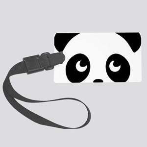 cute panda Large Luggage Tag