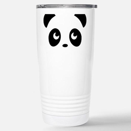 cute panda Stainless Steel Travel Mug