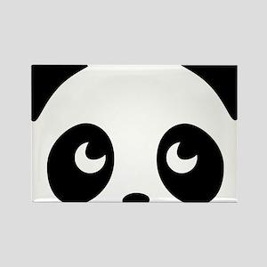 cute panda Rectangle Magnet