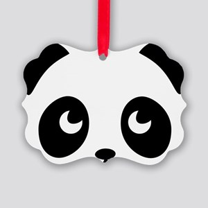 cute panda Picture Ornament