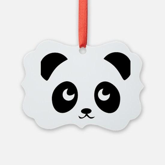 cute panda Ornament