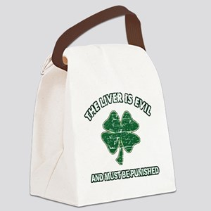 liver Canvas Lunch Bag