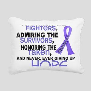 D Supporting Admiring Ho Rectangular Canvas Pillow