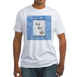 Masonic Treasures. The oath. Fitted T-Shirt