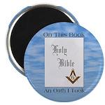 Masonic Treasures. The oath. Magnet