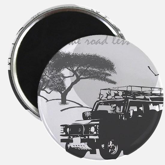 Road Less Traveled - Night Magnet