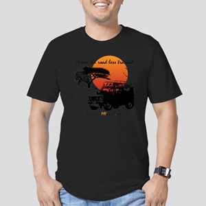 Road Less Traveled - W Men's Fitted T-Shirt (dark)