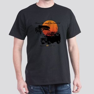 Road Less Traveled - White Dark T-Shirt
