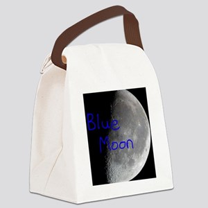 Once in a blue moon, beautiful lu Canvas Lunch Bag