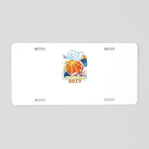 GU Final Four 2017 Basketba Aluminum License Plate