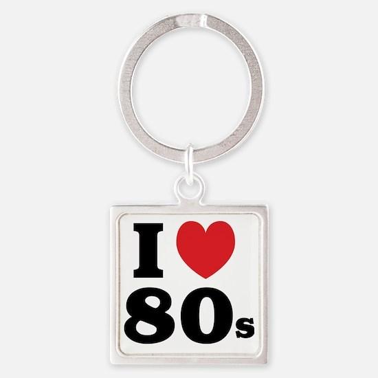 1980F Square Keychain