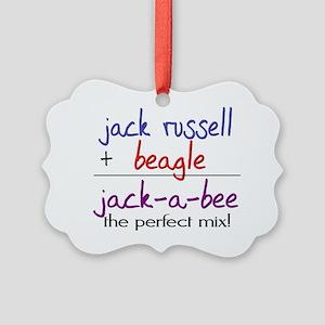 jackabee Picture Ornament