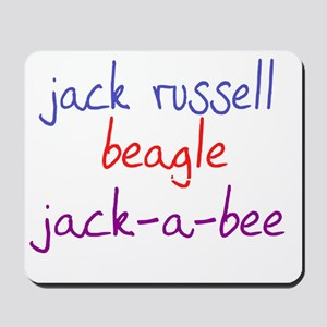 jackabee_black Mousepad