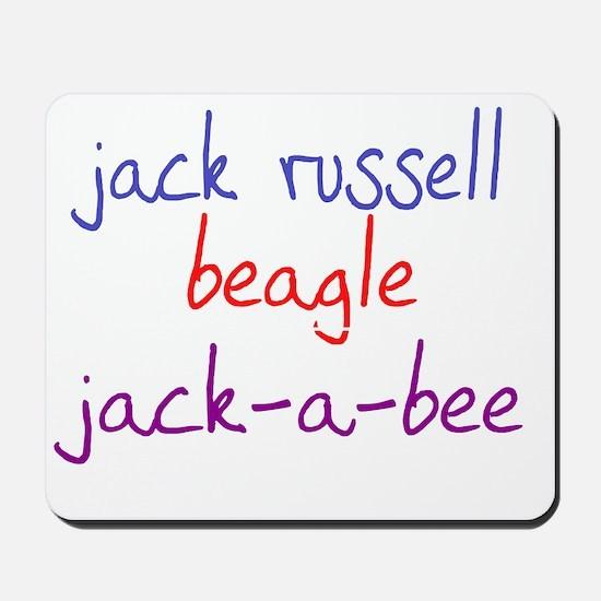 jackabee_black Mousepad