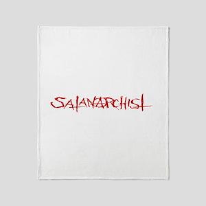Satanarchist-ZUH Throw Blanket