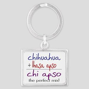 chiapso Landscape Keychain