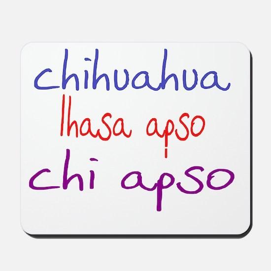 chiapso_black Mousepad