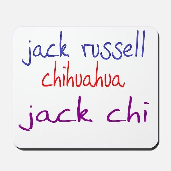 jackchi_black Mousepad