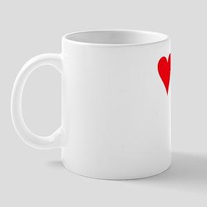 iheartjackabee_black Mug