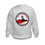 USS BIRMINGHAM Kids Sweatshirt
