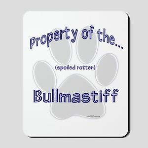 Bullmastiff Property Mousepad
