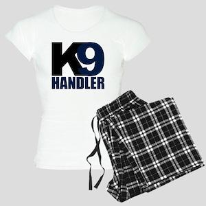 k9-handler02_black_blue Women's Light Pajamas