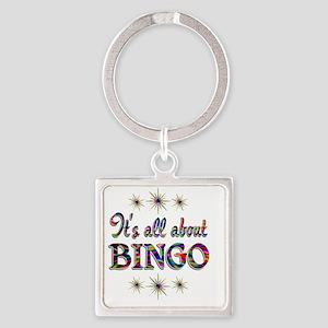 BINGO Square Keychain