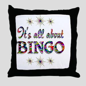 BINGO Throw Pillow