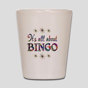 BINGO Shot Glass