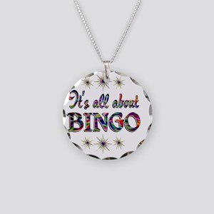 BINGO Necklace Circle Charm