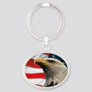 Selous-Eagle Oval Keychain