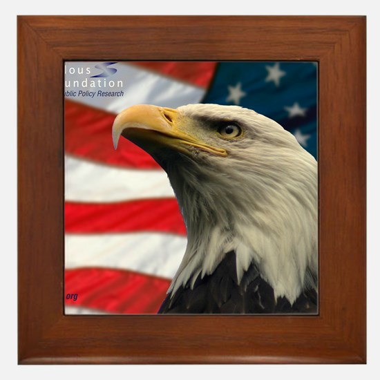 Selous-Eagle Framed Tile