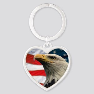Selous-Eagle Heart Keychain