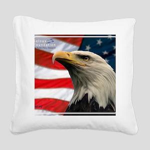 Selous-Eagle Square Canvas Pillow