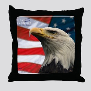 Selous-Eagle Throw Pillow
