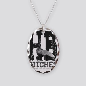 hbbitches Necklace Oval Charm