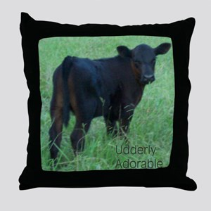 calf Throw Pillow