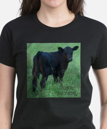 calf Women's Dark T-Shirt