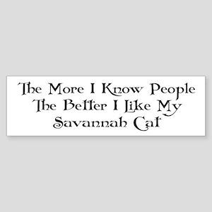 Like Savannah Bumper Sticker